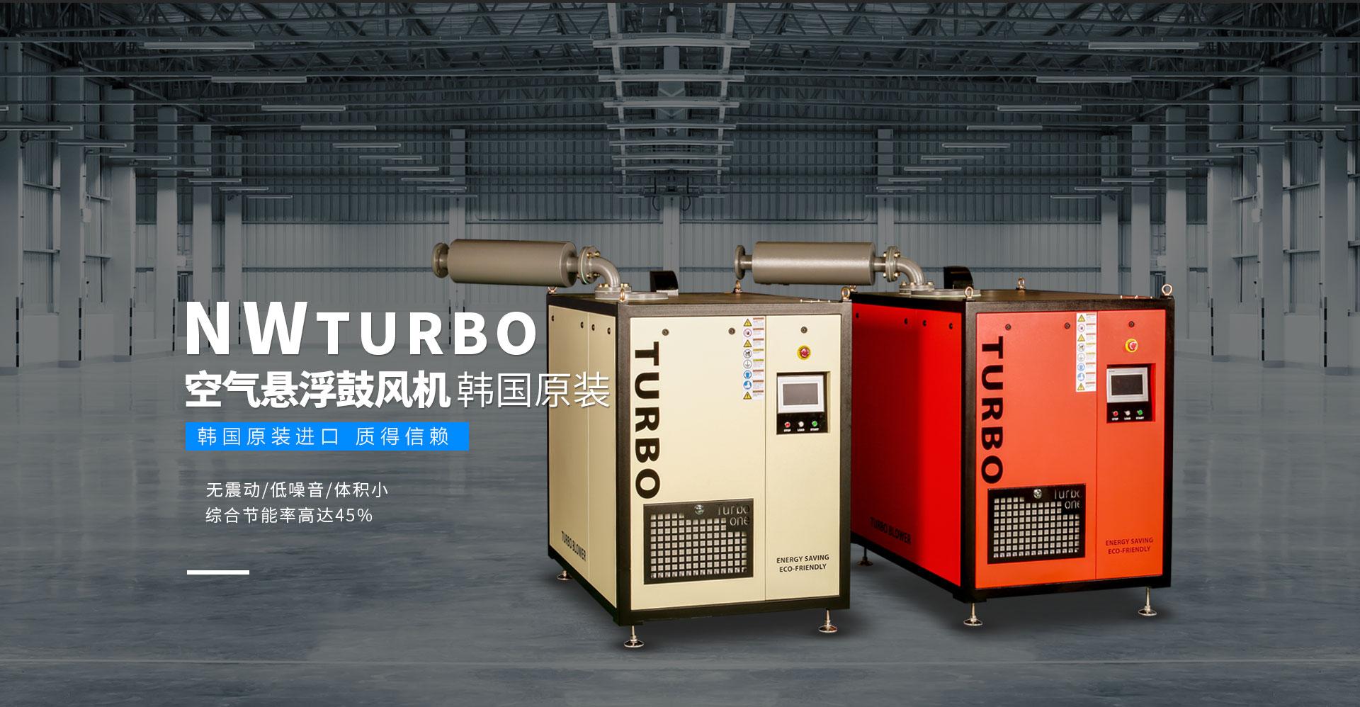 NW TURBO空气悬浮鼓风机韩国原装