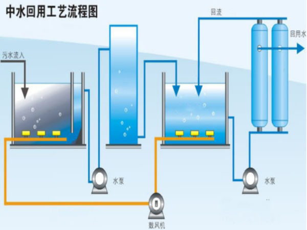 鼓风曝气在污水处理中有何作用?